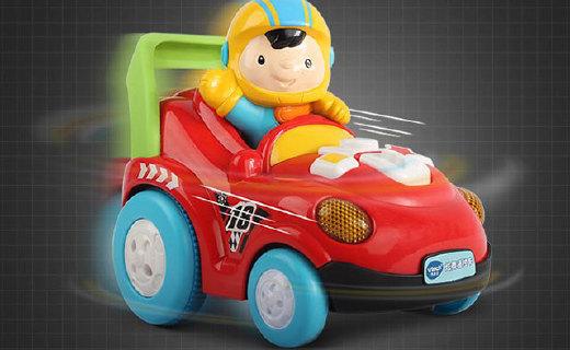 伟易达炫舞型遥控车:外形可爱功能强大,孩子最好的赛车伙伴