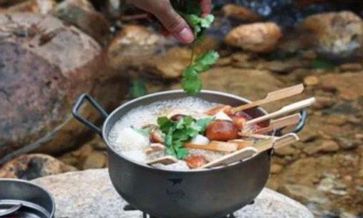 心界野炊鍋:中國人的野炊鍋,一步到胃!