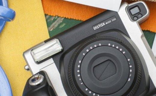 富士INSTAX一次成像相机?#21495;?#25668;宽幅照片,手动变焦,功能多样
