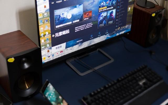支持自动调光,明基影音娱乐显示器EW2780让显示更加智慧养