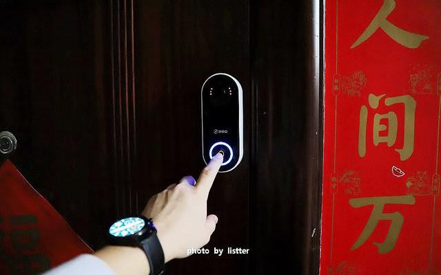 几百块钱能请到五星级保安?360可视门铃还能人脸识别!