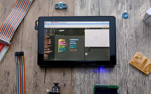 簡單易用的樹莓派平板 帶你快速入門計算機編程