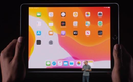 大了!苹果发布10.2英寸iPad,支持Apple Pencil和外接键盘