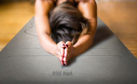 青鳥5mm瑜伽墊:體位線印制,幫你做瑜伽動作更標準