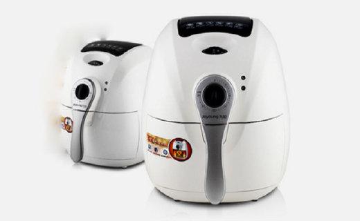 九陽KL-26J601炸鍋:循環熱風加熱均勻,無油煙低油脂更健康