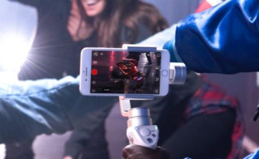 大疆ZM01手持穩定器:多種智能拍攝模式,讓你媲美專業攝影師