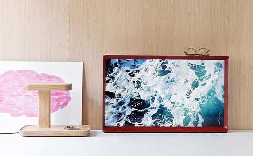 家具般优雅的三星电视,还能当幕布装?#25991;?#23478;