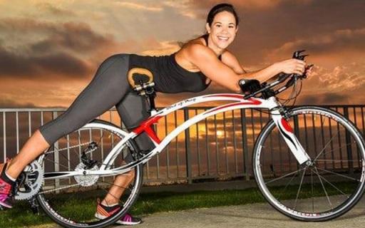 趴着骑的自行车,超小阻力带给你?#19978;?#30340;感觉