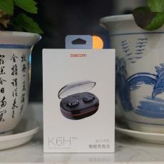 不止是真無線,連充電線都不用帶的Dacom K6H Pro輕