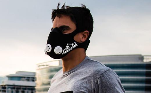 健身面罩锻炼肺活量,自带三气阀就不让你呼吸