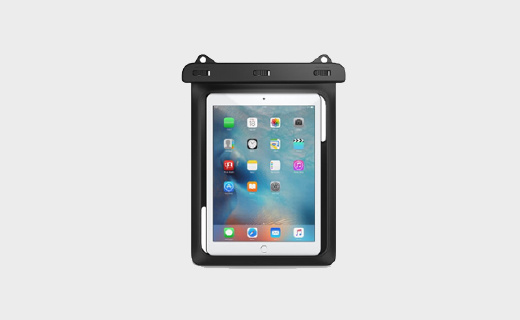 MoKo透明平板防水袋:十英寸以下通用,秒變水下拍攝神器