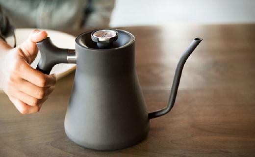 自带温度计的手枪咖啡壶,美貌与实力并重