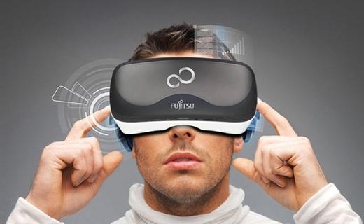 Fujitsu FV100 3D智能眼镜:360度全景视野,内置九轴陀螺仪