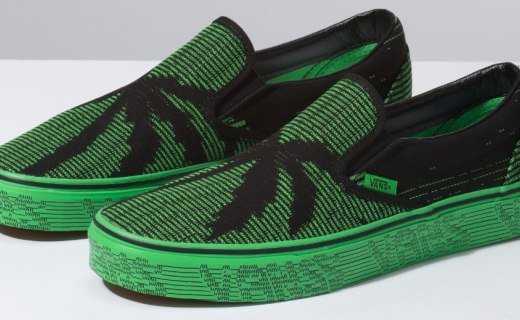 鞋子也玩黑客帝國?Vans全新鞋款發布,靈感來自程序員!