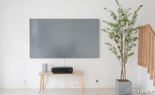 硬核激光電視:頂級畫質+屏幕發聲黑科技,給你震撼視聽體驗!