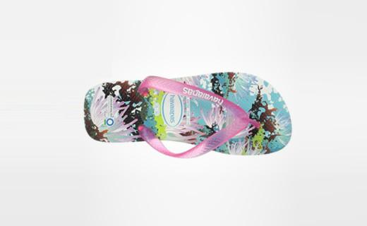 Havaianas人字拖:天然橡膠純手工制作,飽滿色彩盛夏專屬