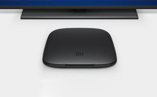 小米電視盒子3s:全新智能系統,高清輸出,四核處理器性能強勁