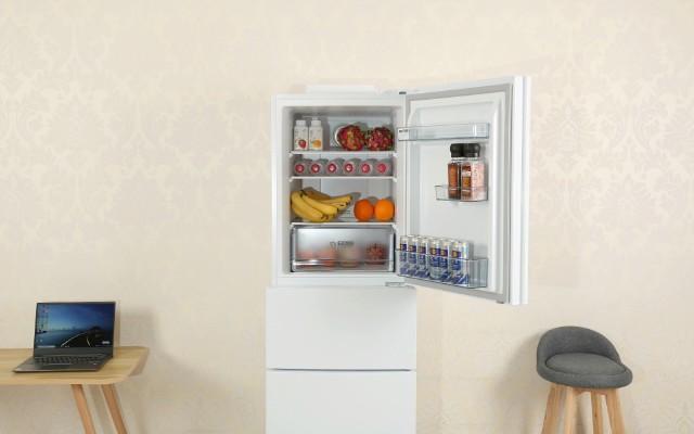 自从有了这台冰箱,食材再也不串味:美的BCD-230WTPZ