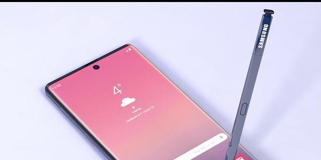 「事儿」出现了!三星 Galaxy Note 10 渲?#23601;计?#20809;