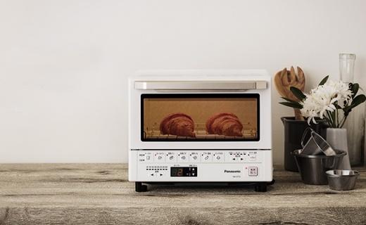 松下NB-DT51小烤箱,把變軟的餅干再次還原