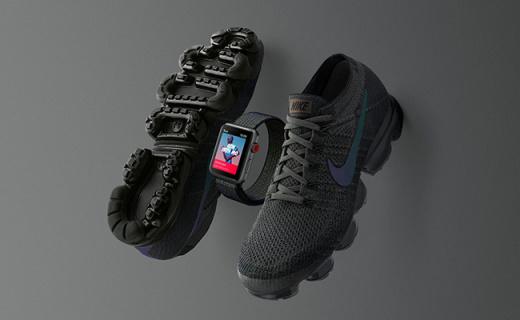 蘋果推出限量版Apple Watch 3,與VaporMax堪稱絕配
