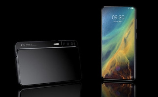 真全面屏+侧滑盖,中兴Axon S手机曝光