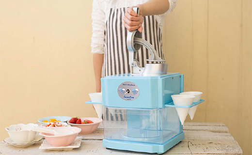 麥子廚房家用刨冰機:快速出冰,運行平穩,3C認證超安全