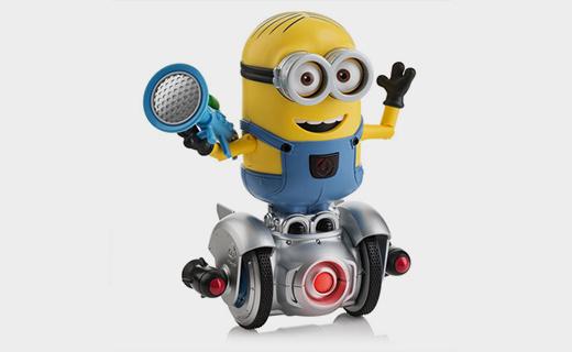 WowWee小黄人机器人:140种原创短语,多?#36136;质瓶?#29609;性极高