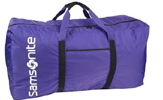 新秀麗大號旅行包:尼龍材質結實耐磨,大容量設計出行無擔憂
