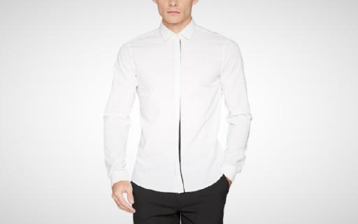 Calvin Klein襯衣:修身剪裁貼合身形,商務休閑多樣搭配
