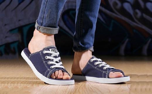 匡威帆布拖鞋:混搭造型眼前一亮,舒適涼快出街吸睛