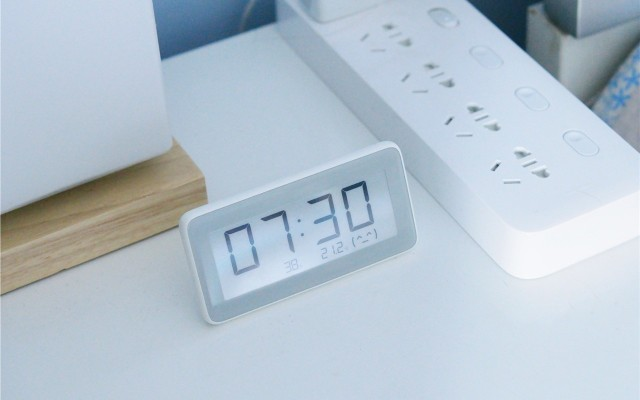 「超逸酷玩」米家溫濕監測電子表可不只是一款電子表吶!