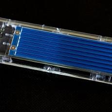 奥睿科M.2硬盘盒测试