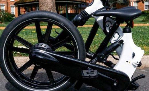 Gocycle GX折疊自行車,續航可達60公里!