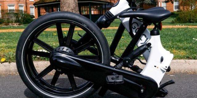 Gocycle GX折叠自行车,续航可达60公里!
