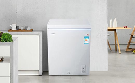 Haier 142升冰柜:3D逆循環速冷技術,節能又速凍