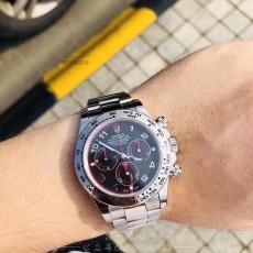 忠一表業:驚艷出神,改裝N勞力士116509黑盤紅魔腕表
