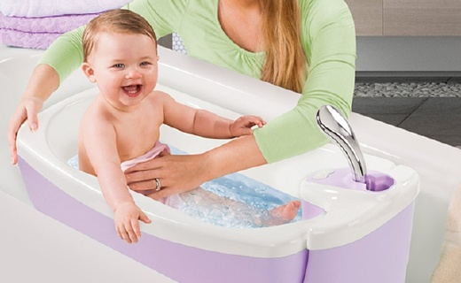 Summer Infant婴儿浴缸:多模式适配不同年龄段,按摩水流更舒适