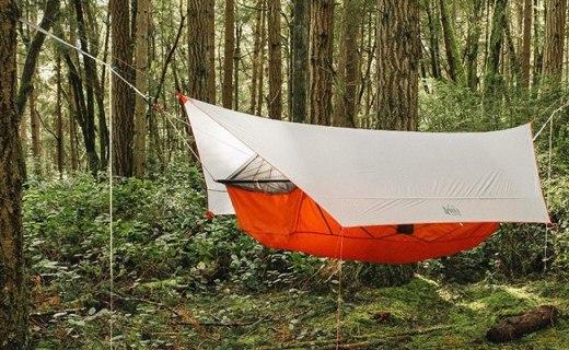 吊在半空中用的帐篷,带蚊帐层夏天也不怕被咬