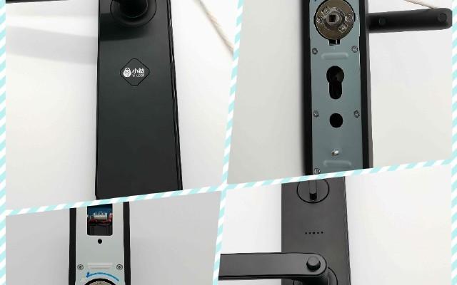 方便、省心、性价比新选择|小益E206智能指纹密码门锁