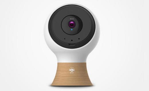 愛耳目智能攝像頭:360°旋轉監控,可實時對講遠程操控