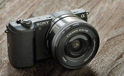 索尼ILCE-5100L微單套機:4D極速對焦,可翻轉屏方便自拍