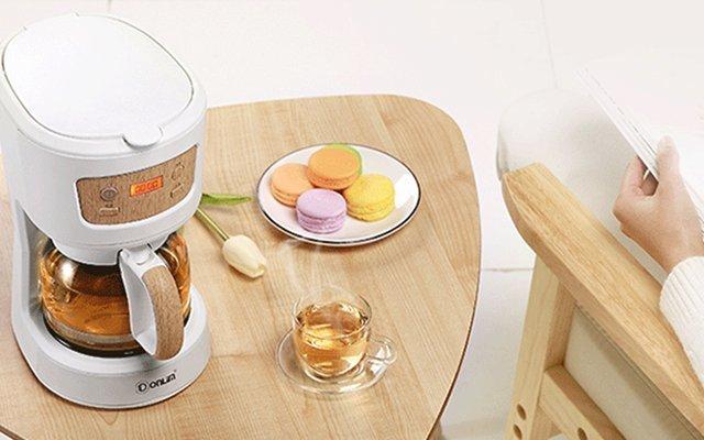 让喝茶不麻烦,一键轻松搞定,东菱喷淋式煮茶器评测