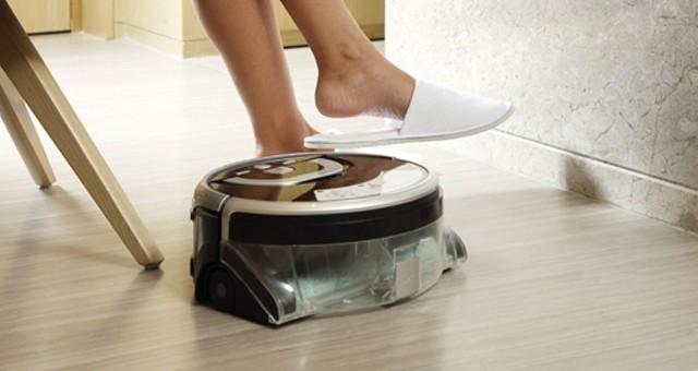 智能生活新选择-ILIFE智意W400洗地机器人