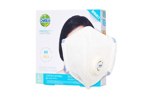自帶排氣扇的滴露智慧型防霧霾口罩,老少全能用