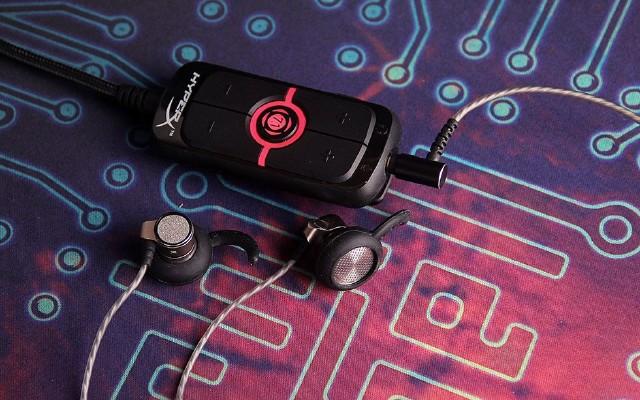 金士顿 HyperX AMP 7.1 USB声卡开箱体验