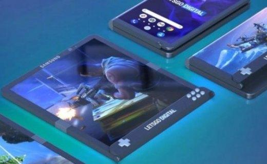三星可折叠屏手机曝光,展开可达7.3寸显示屏,游戏玩家的神器?