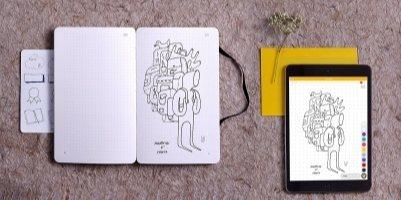 Moleskine发布智能笔记册:可与Ai同步联动