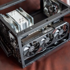 一台ITX垂直风道的学生主机搭建分享
