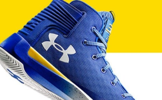 安德玛Curry篮球鞋 :全掌缓震设计,轻盈透气,脚步移动流畅自如